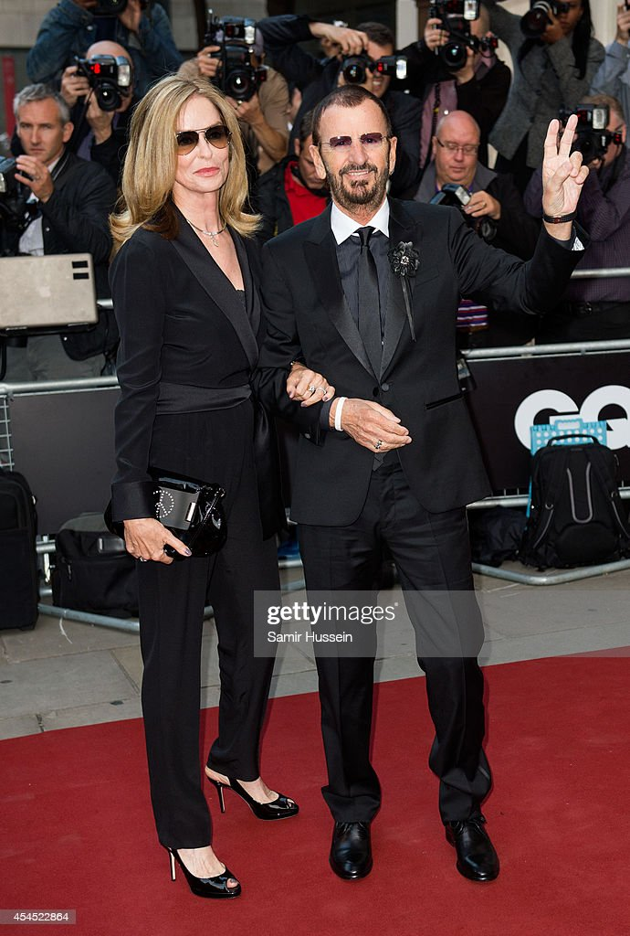 <a gi-track='captionPersonalityLinkClicked' href=/galleries/search?phrase=Ringo+Starr&family=editorial&specificpeople=92463 ng-click='$event.stopPropagation()'>Ringo Starr</a> and <a gi-track='captionPersonalityLinkClicked' href=/galleries/search?phrase=Barbara+Bach&family=editorial&specificpeople=240623 ng-click='$event.stopPropagation()'>Barbara Bach</a> attend the GQ Men of the Year awards at The Royal Opera House on September 2, 2014 in London, England.