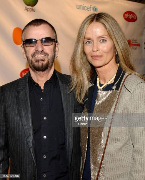 Ringo Starr and Barbara Bach during The Concert for Bangladesh Revisted with George Harrison and Friends Documentary Gala Red Carpet at Warner Bros...
