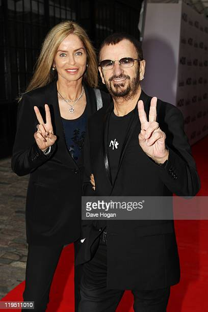 Ringo Starr and his wife Barbara Bach attend the Glenfiddich Mojo Honours List 2011 at The Brewery on July 21 2011 in London England