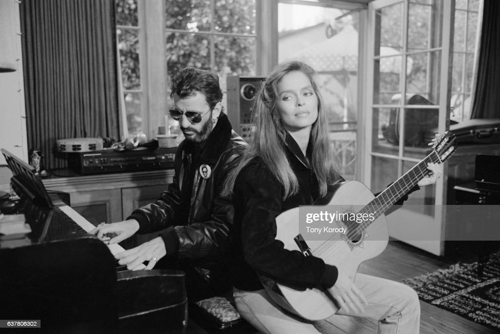 Ringo Starr and His Wife Barbara Bach