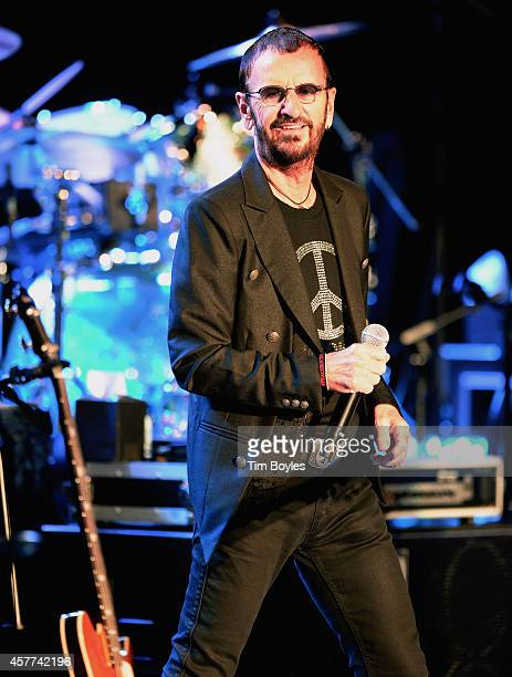 Ringo Starr His AllStarr Band perform at Ruth Eckerd Hall on October 23 2014 in Clearwater Florida