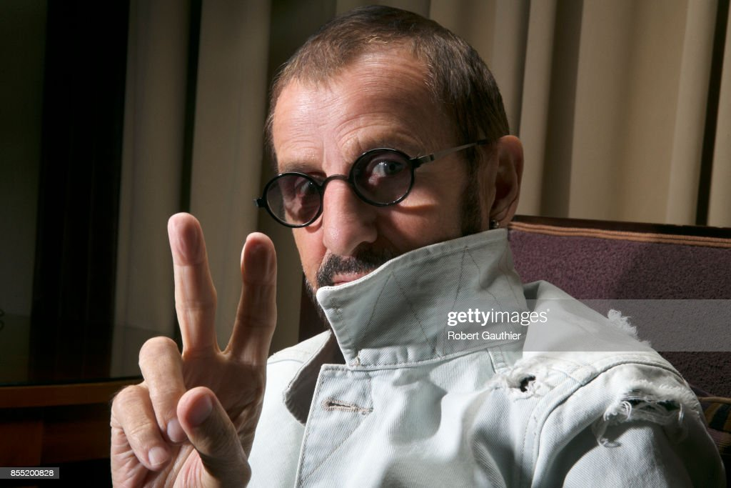 Ringo Starr is photographed for Los Angeles Times on July 12, 2017 in Los Angeles, California. PUBLISHED IMAGE.