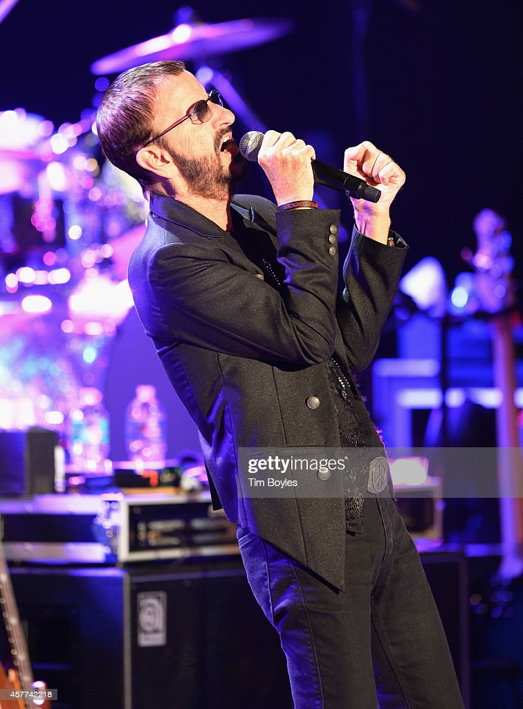 Ringo Starr of Ringo Starr & His All-Starr Band perform at Ruth Eckerd Hall on October 23, 2014 in Clearwater, Florida.