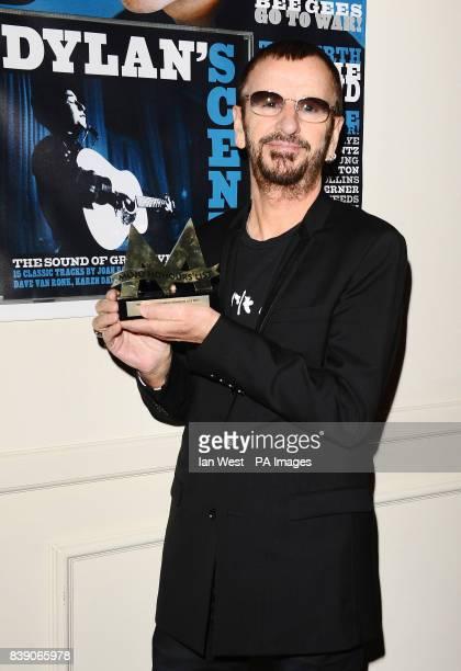 Ringo Starr wins the Icon Award at the Mojo Awards ceremony in London