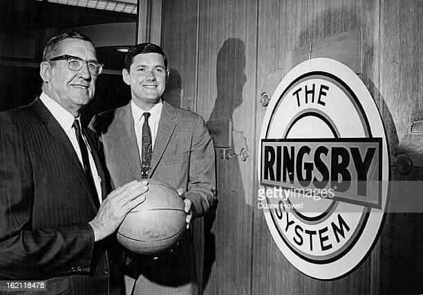 JUN 17 1967 MAR 27 1970 JUN 18 1967 J W Ringsby Left And Son Donald Are New Owners Of Denver's Pro Basketball Franchise Trucking firm executives buy...