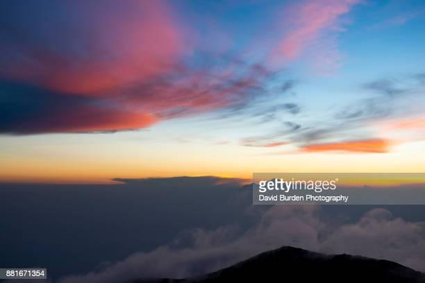 Rinjani Volcano From Agung