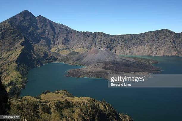 Rinjani volcano in Lombok