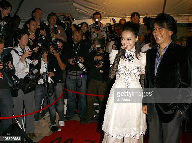 Rinko Kikuchi and Koji Yakusho during 31st Annual Toronto International Film Festival Paramount Vantage Premiere of 'Babel' at Roy Thompson Hall in...