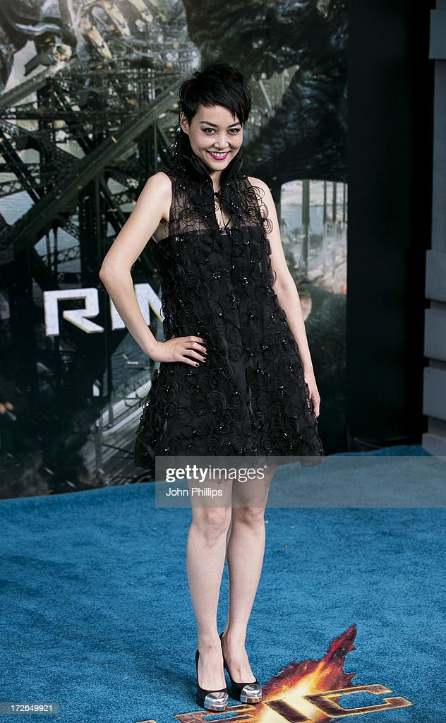 Rinko Kikuchi attends the European Premiere of 'Pacific Rim' at BFI IMAX on July 4, 2013 in London, England.