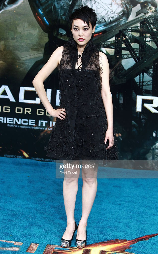 Rinko Kikuchi attends the European Premiere of Pacific Rim at BFI IMAX on July 4, 2013 in London, England.