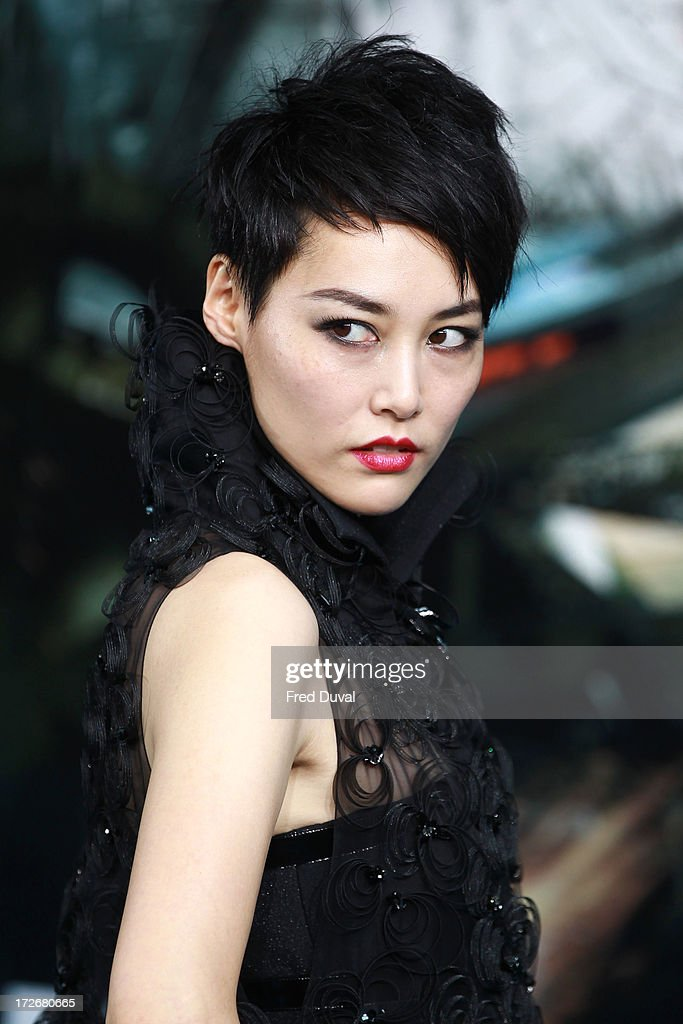 <a gi-track='captionPersonalityLinkClicked' href=/galleries/search?phrase=Rinko+Kikuchi&family=editorial&specificpeople=616782 ng-click='$event.stopPropagation()'>Rinko Kikuchi</a> attends the European Premiere of Pacific Rim at BFI IMAX on July 4, 2013 in London, England.