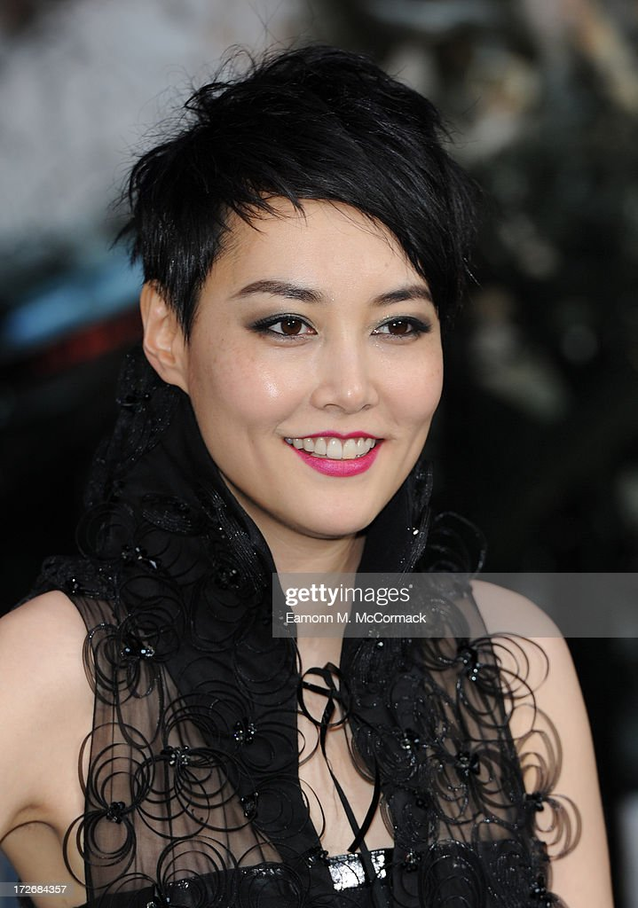 <a gi-track='captionPersonalityLinkClicked' href=/galleries/search?phrase=Rinko+Kikuchi&family=editorial&specificpeople=616782 ng-click='$event.stopPropagation()'>Rinko Kikuchi</a> attends the European Premiere of 'Pacific Rim' at BFI IMAX on July 4, 2013 in London, England.