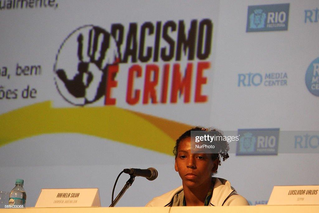 """Résultat de recherche d'images pour """"rafaela silva racism"""""""
