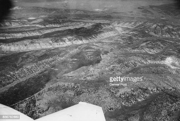 Rio Blanco County Co Aerial views near Rangely Credit Denver Post