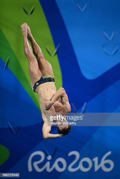 Rio Brazil 16 August 2016 Patrick Hausding of Germany during the Men's 3m springboard final at the Maria Lenk Aquatics Centre during the 2016 Rio...