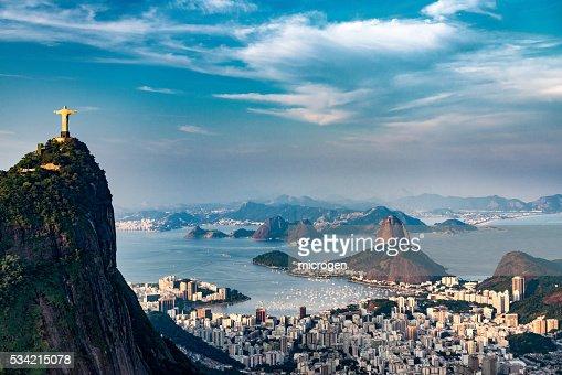 Rio De Janeiro Aerial : Stock Photo
