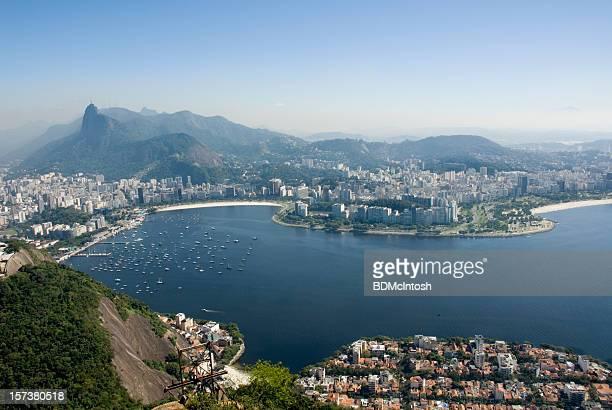 Rio de Janeiro und Bucht von Guanabara