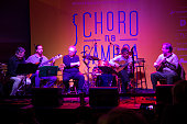 Choro group performing at MAR Rio Art Museum at the quotChoro na Gamboaquot Choro is a Brazilian musical style that emerged before the samba and was...