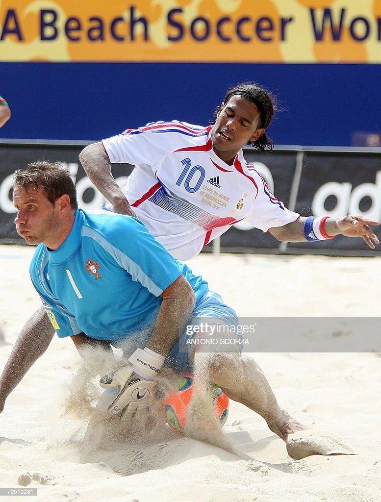 French beach soccer player Jairzinho Car