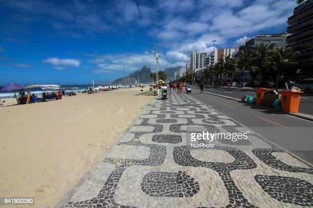 Rio de Janeiro Brazil September 2 2017 Beginning of September has a sunny and hot day in Rio With only 20 days left until the beginning of spring in...