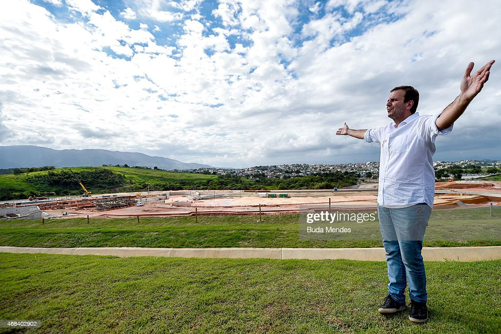 Rio 2016 Olympic Games: Mayor Eduardo Paes Visits the Deodoro Sports Complex