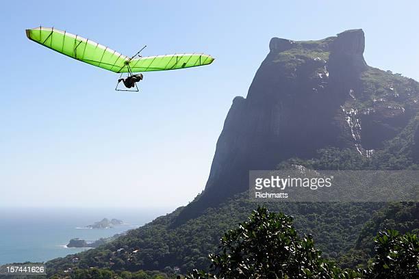 Rio de Janeiro. Paragliding.