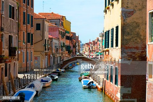 Rio de S Ana, Venice, Italy : Stock Photo