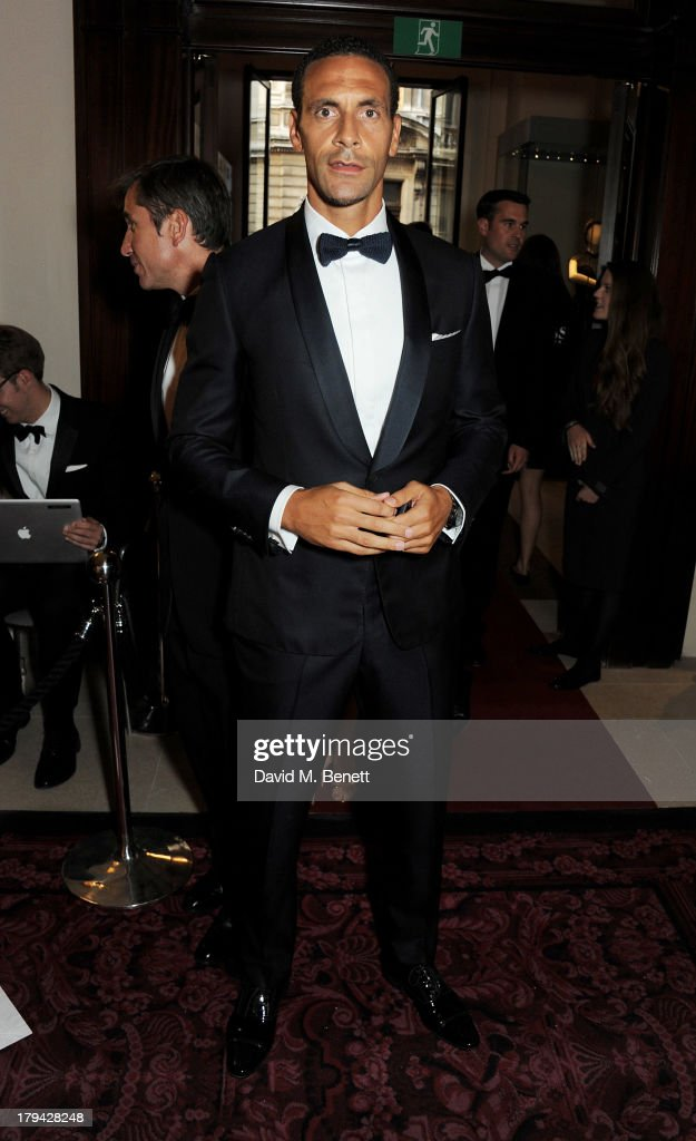<a gi-track='captionPersonalityLinkClicked' href=/galleries/search?phrase=Rio+Ferdinand&family=editorial&specificpeople=157538 ng-click='$event.stopPropagation()'>Rio Ferdinand</a> arrives at the GQ Men of the Year awards at The Royal Opera House on September 3, 2013 in London, England.