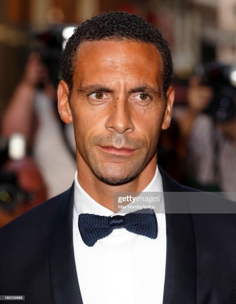 Rio Ferdinand attends the GQ Men of the Year awards at The Royal Opera House on September 3, 2013 in London, England.
