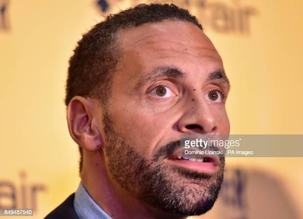Rio Ferdinand during the press conference at York Hall London
