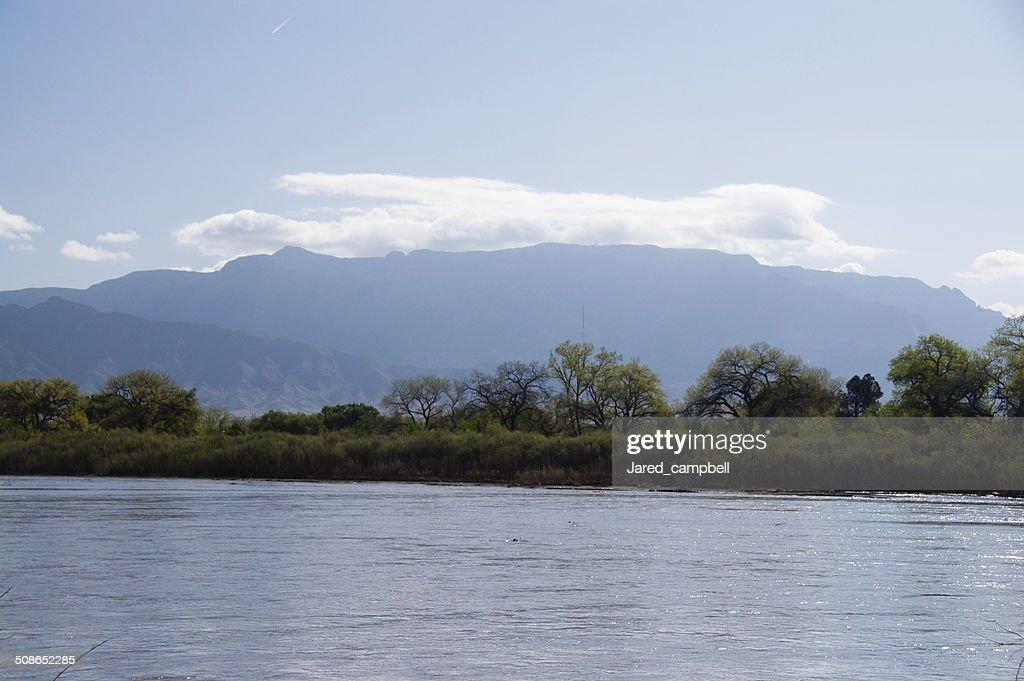 Rio grande river : Stock Photo