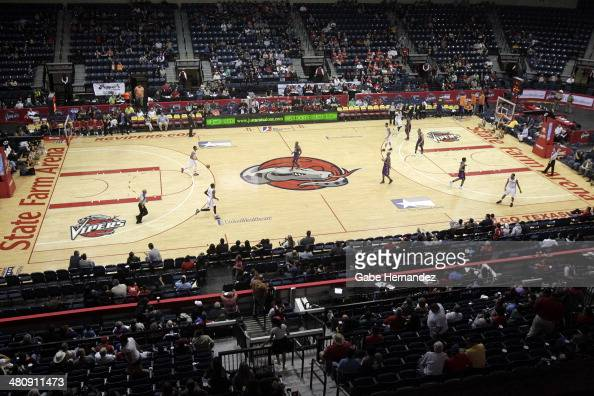 Rio Grande Valley Vipers against the Iowa Energy on March 26 2014 at the State Farm Arena in Hidalgo Texas NOTE TO USER User expressly acknowledges...