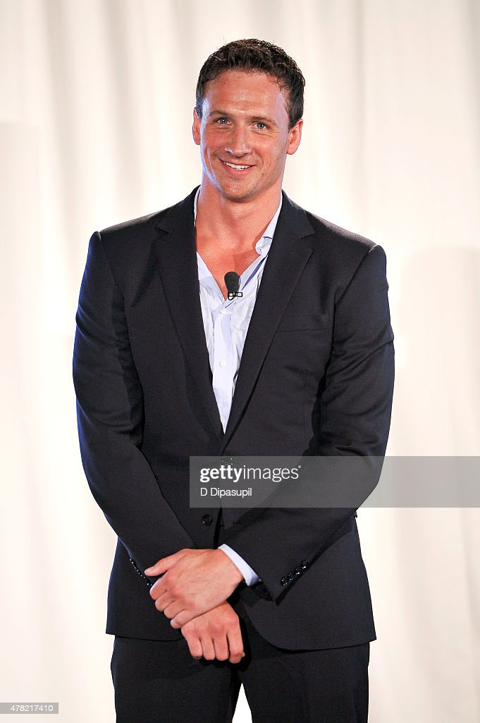 Rio Olympic hopeful <a gi-track='captionPersonalityLinkClicked' href=/galleries/search?phrase=Ryan+Lochte&family=editorial&specificpeople=182557 ng-click='$event.stopPropagation()'>Ryan Lochte</a> attends the TeamUSA New View event at Midtown Loft & Terrace on June 23, 2015 in New York City.