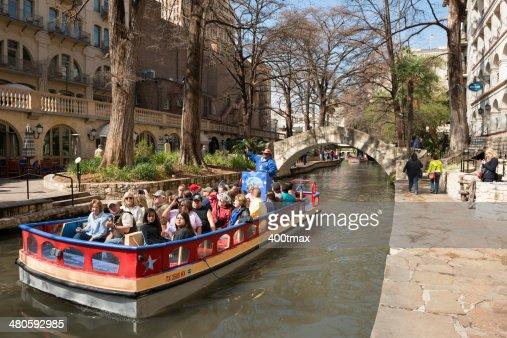 Rio San Antonio Boat Tour : Stock Photo