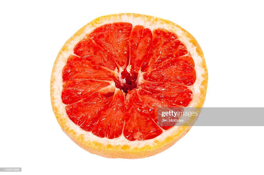 Rio Star grapefruit : Stock Photo