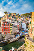Amazing View Of Riomaggiore - Cinque Terre, La Spezia Province, Liguria Region, Italy, Europe