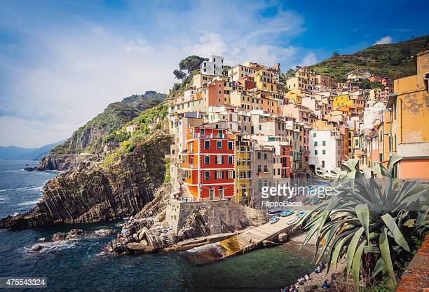 Riomaggiore Blick – Cinque Terre, Italien