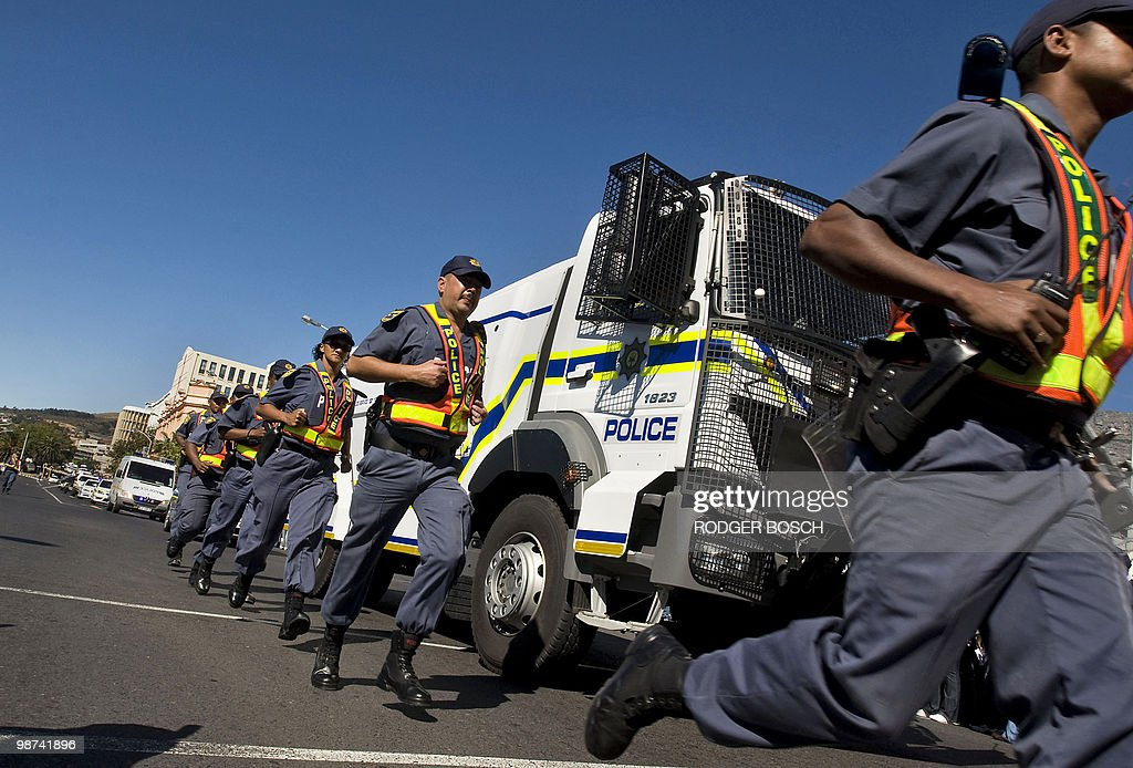 Bildresultat för south africa riot control