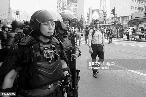 Riot Team in Brasilien