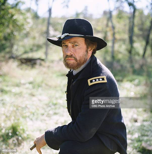 Rip Torn as General Ulysses S Grant of the Union Army appears in The Blue and the Gray The epic miniseries about the American Civil War originally...