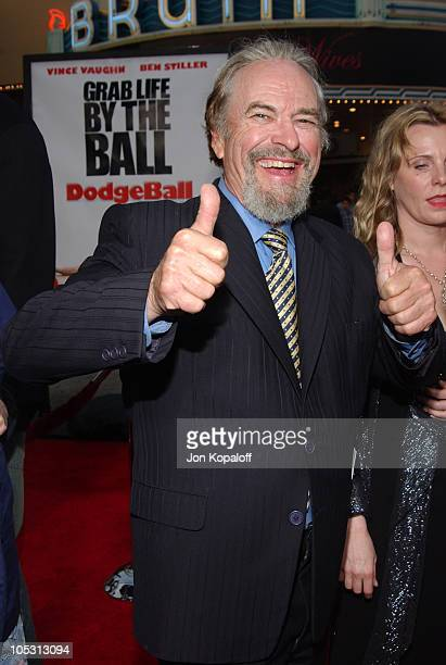 Rip Torn during 'DodgeBall A True Underdog Story' World Premiere Arrivals at Mann Village Theatre in Westwood California United States