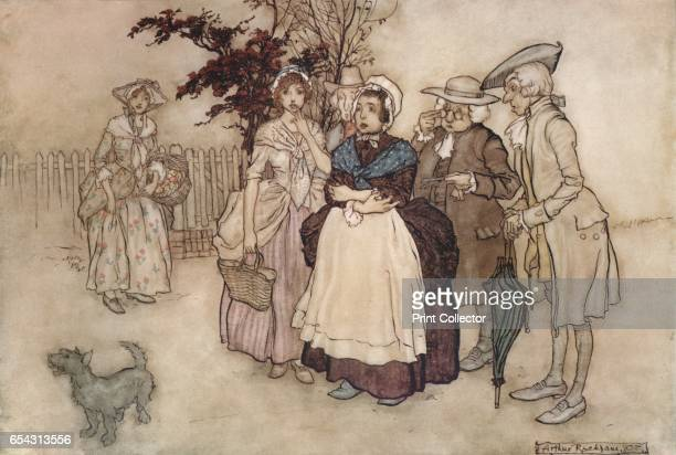 Rip Van Winkle 1907 Printed by Carl Hentschel Ltd From The British Printer Vol XX [Raithby Lawrence Co Ltd London and Leicester 1907] Artist Arthur...