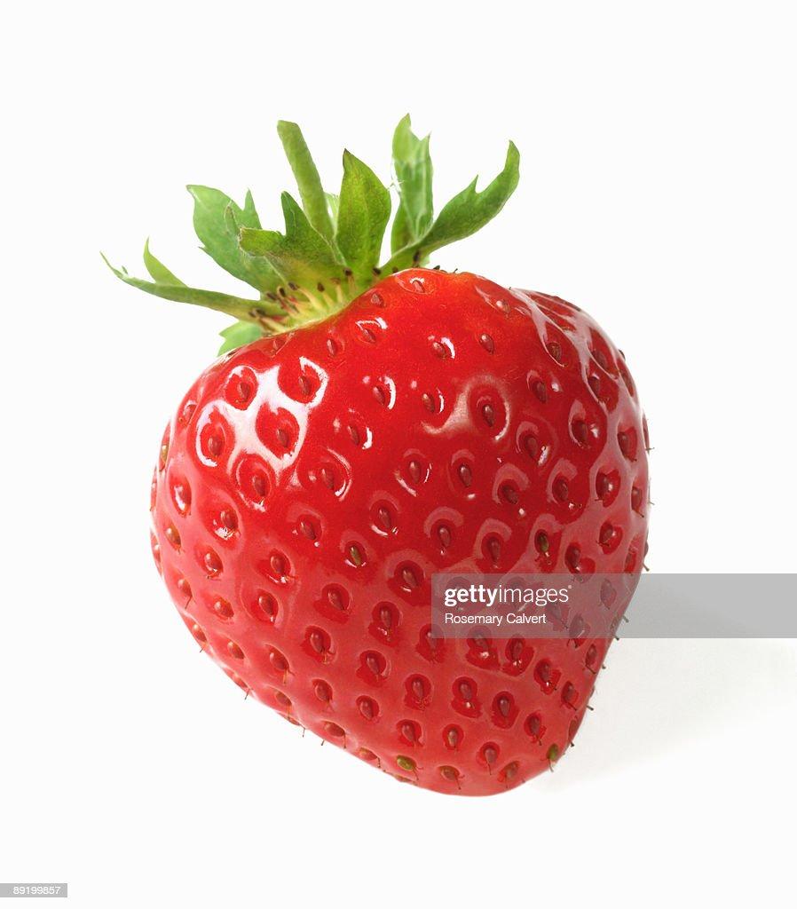 Ripe, fresh, organic strawberry. : Stock Photo