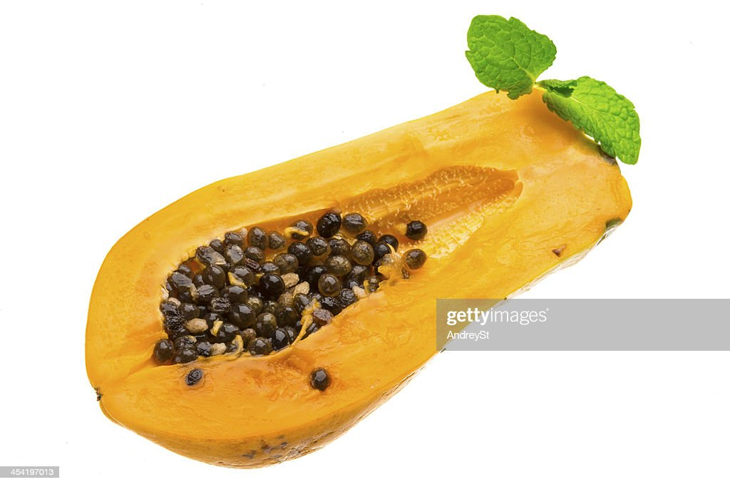 Maduro papaya : Foto de stock