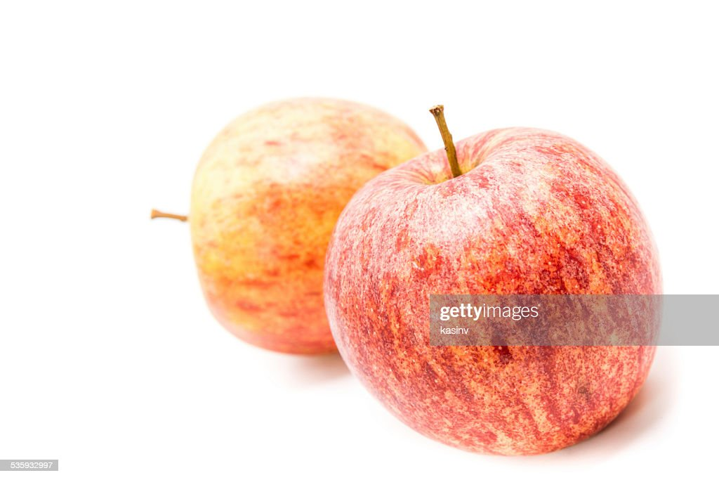 ripe red apple : Stock Photo