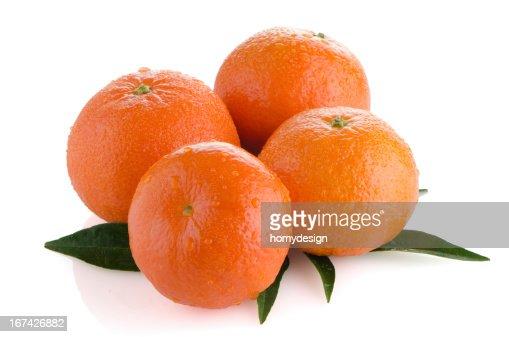 Maduro tangerines o mandarín : Foto de stock