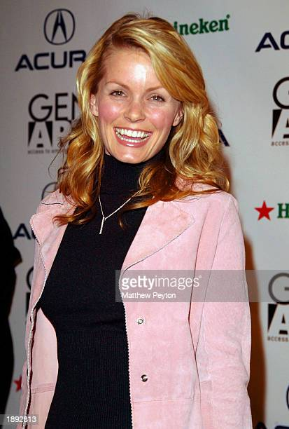 Ripley's Believe It Or Not host Kelly Packard arrives at the premiere of 'Kiss The Bride' at the 8th Annual Gen Art Film Festival's Opening Night...