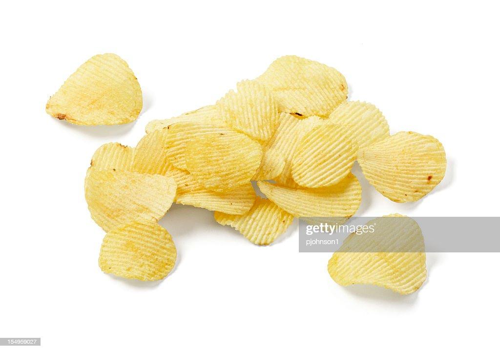 Ripple potato chips : Stock Photo