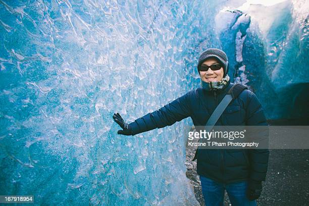 ripples of the ice cave