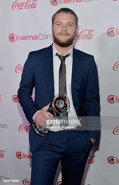 Rising Star of 2014 award winner Jack Reynor attends The CinemaCon Big Screen Achievement Awards brought to you by The CocaCola Company during...